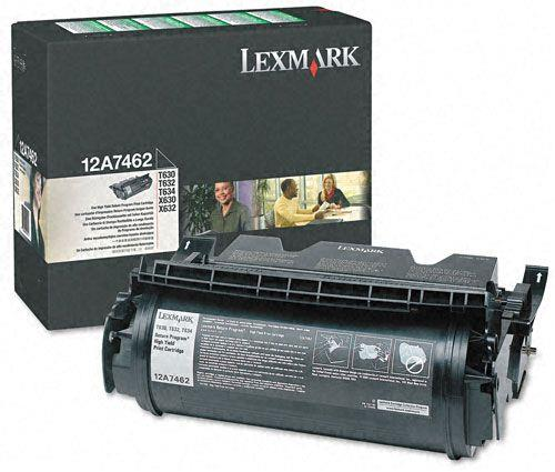 Image of Lexmark Return Program Toner Cartridge (12a7462)