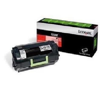 Image of Lexmark 523xe Black Extra High Yield Corporate Toner Cartridge, 45k, Ms811/812