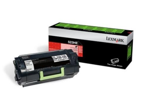 Image of Lexmark 523he Blk High Yield Corp Toner Cart 25k Ms810/811/812