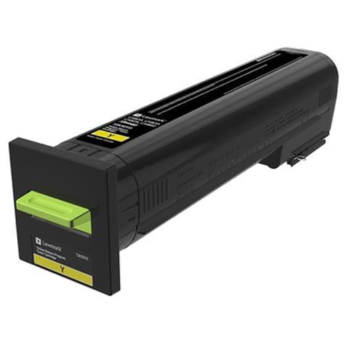Image of Lexmark Cs820/cx825/cx860 Yellow Return Program Toner Cart 8k