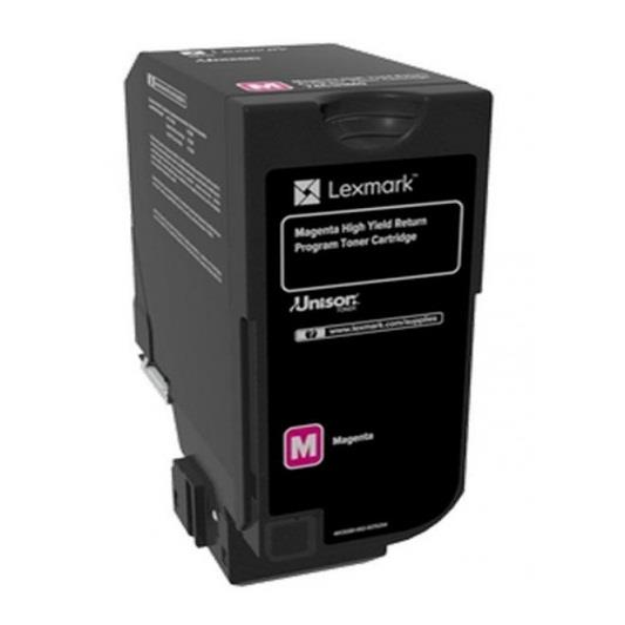 Image of Lexmark Cs725 Magenta High Yield Return Program Toner Cartridge 12k