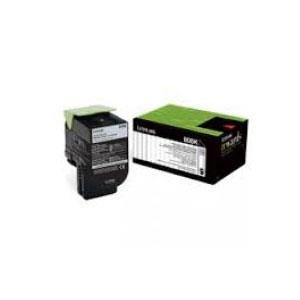Image of Lexmark 808k Black Return Toner 1,000 Pages - For Cx310/410/510