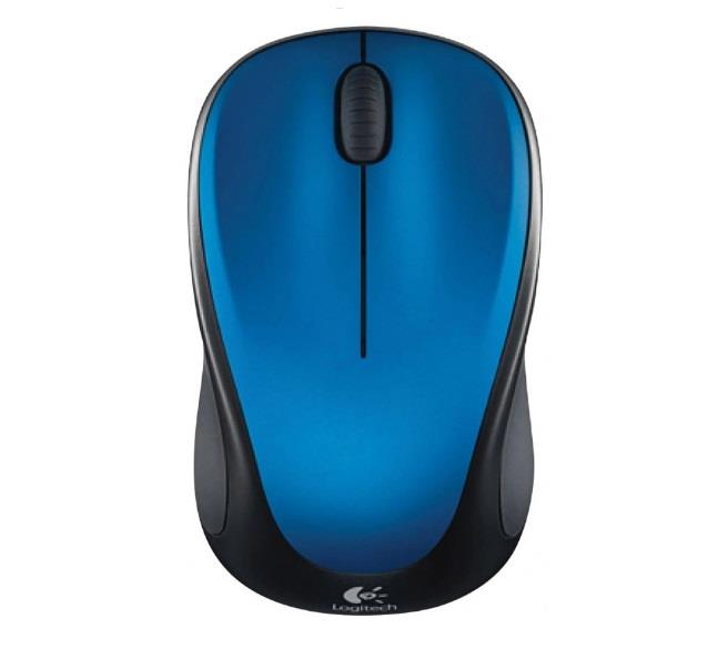 Image of Logitech Wireless Mouse M235 - Blue