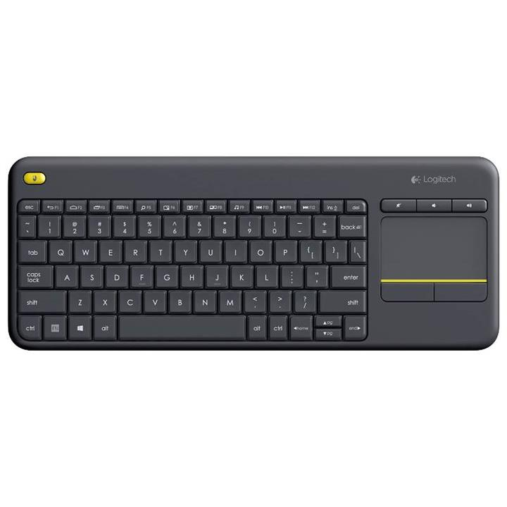 Image of Logitech 920-007165 K400 Plus Wireless Touch Keyboard - Black