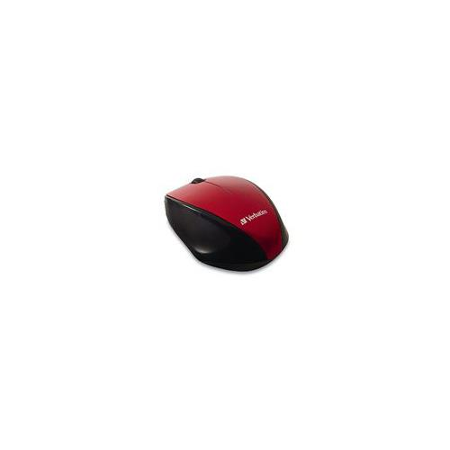 Image of Verbatim Multitrac Red Mouse Blue Led, Wireless Optical