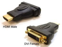 Image of Dvi Female To Hdmi Male Adapter