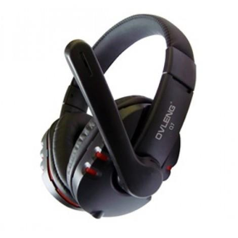 Image of Ovleng Usb Computer Headphones With Mic And Volume Control