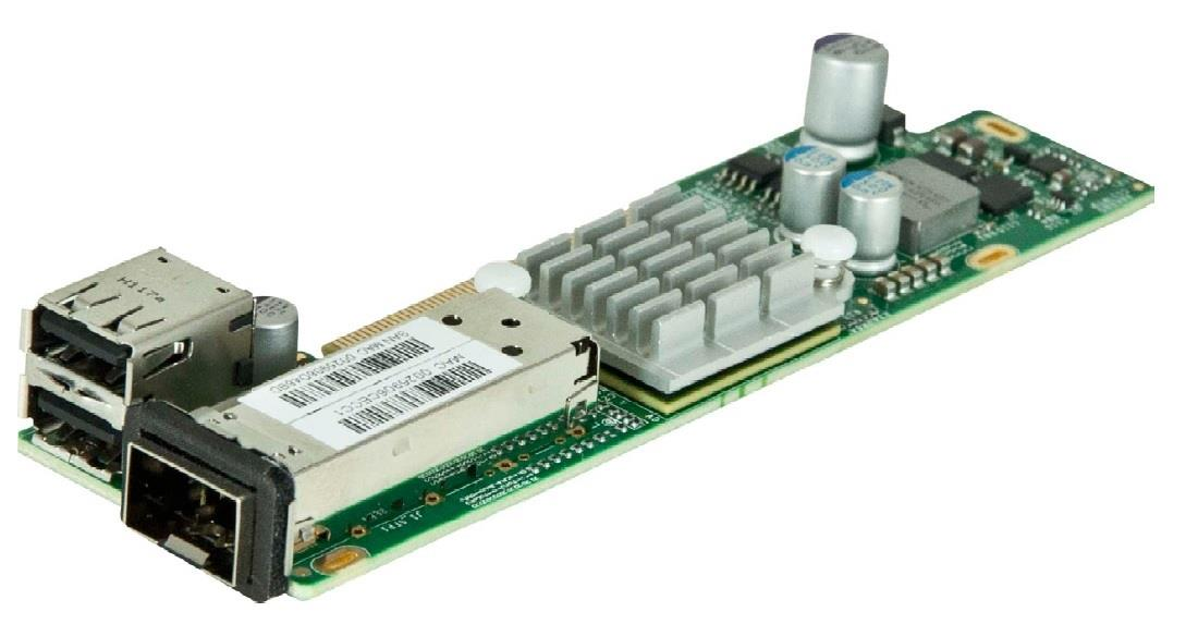 Image of Supermicro 1pt 10gb Sfp Adapte Lc Fibre & Twin Axial Connect (aoc-ctg-i1s)