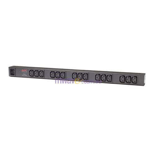 Image of Apc Rack Pdu, Basic, Zero U, 16a,208/230v, (15) C13 [ap9572]