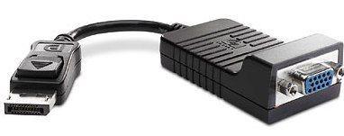 Image of Hp Display Port To Vga Adapter (as615aa)