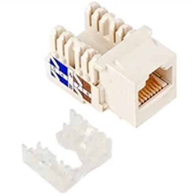 Image of Astrotek Cat5e Utp Keystone Jack For Socket Kit 10ps Per Pack Poly Bag White (atp-kj-5e)