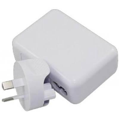 Image of Astrotek Usb Travel Wall Charger Power Adapter Au Plug 2a 220v 2 Ports White Colour