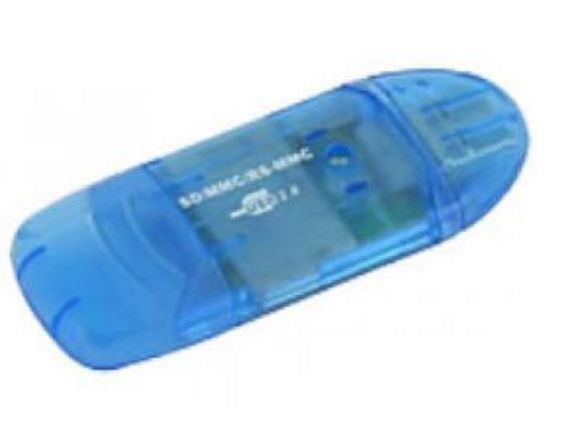 Image of Astrotek Usb Card Reader Support:sd/sdhc/mmc/rs-mmc