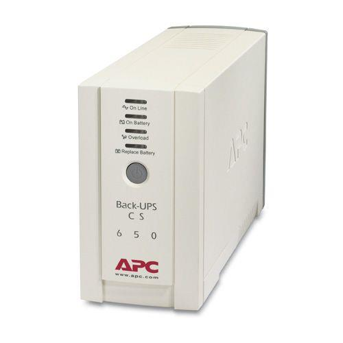 Image of Apc Back-ups Cs 650 Ups Ac230v 650va 4output (bk650-as)