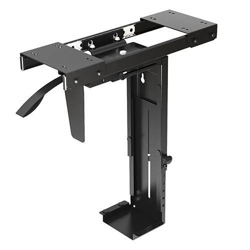 Image of Brateck Adjustable Under-desk Computer Case Mount - Cpb-5