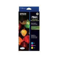 Image of Epson 786xl Value Ink Pack Cyan, Magenta, Yellow Inks