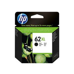 Image of Hp #62xl Black Ink Cartridge C2p05aa 600 Pages