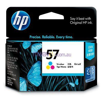 Image of Hp No.57 Tricolour Inkjet Cartridge For Deskjet 5551
