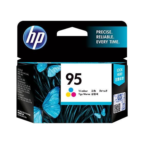 Image of Hp 95 Color Inkjet Cartridge 260 Pages (c8766wa)