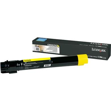 Image of Lexmark C950 Yellow Toner 22k