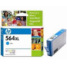 Image of Hp 564xl Cyan Ink Cartridge For Photosmart (cb323wa)