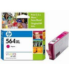 Image of Hp 564xl Magenta Ink Cartridge For Photosmart (cb324wa)