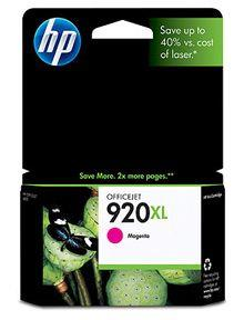 Image of Hp 920xl Magenta Officejet Ink Cartridge, 700 Pages (cd973aa)