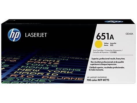 Image of Hp Laserjet 700 Color Mfp 775 Yellow Toner Ce342a