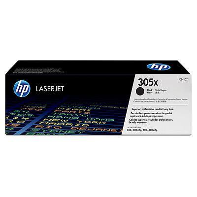 Image of Hp Ce410x Hp305x Black Laserjet Print Cartridge