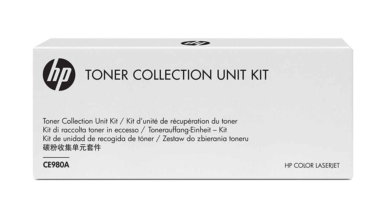 Image of Hp Color Laserjet Ce980a Toner Collection Unit