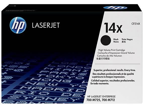 Image of Hp Cf214x 14x High Yield Black Original Laserjet Toner Cartridge