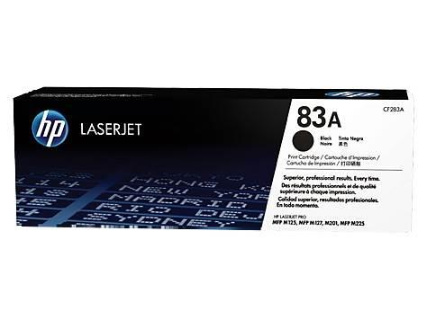 Image of Hp Cf283a Laserjet 83a Black Toner Cartridge For Hp Laserjet Pro Mfp M125 / M127