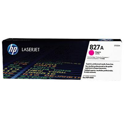 Image of Hp 827a Magenta Laserjet Toner Cartridge