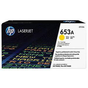 Image of Hp 652a Yellow Laserjet Toner Cartridge