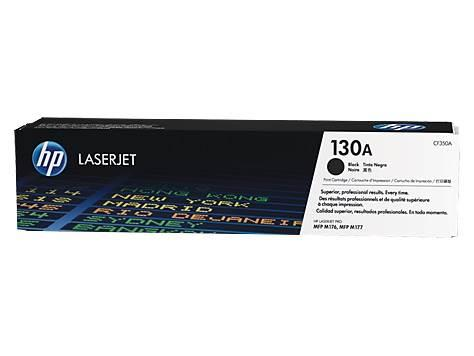 Image of Hp 130a Black Laserjet Toner Cartridge-m153/m176/m177 [cf350a]