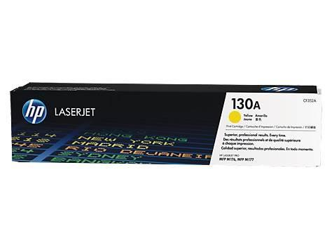 Image of Hp 130a Yellow Laserjet Toner Cartridge-m153/m176/m177 [cf352a]