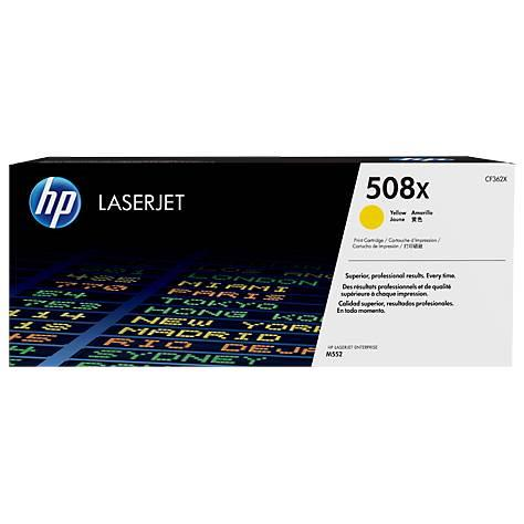 Image of Hp 508x High Yield Yellow Original Laserjet Toner Cartridge (cf362x)