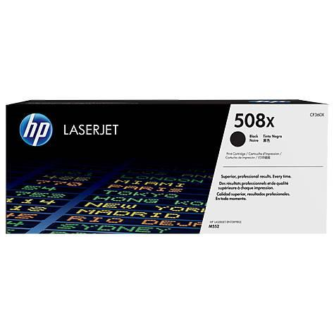 Image of Hp 508x High Yield Original Black Laserjet Toner