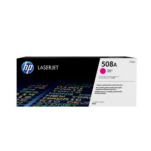 Image of Hp #508a Magenta Toner Cartridge 5000 Pages (cf363a)