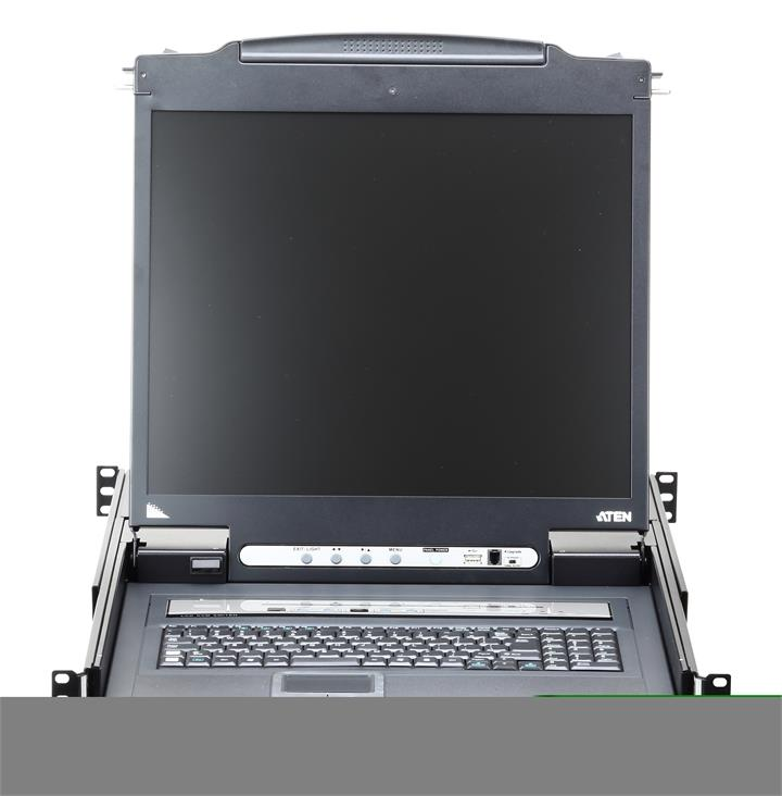 "Image of Aten Cl5708in-ata-au 19"" 1 Local/remote Share Access 8 Port Kvm Over Ip"