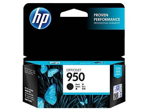 Image of Hp Cn049aa 950 Black Original Ink Cartridge, Up To 1000 Pages