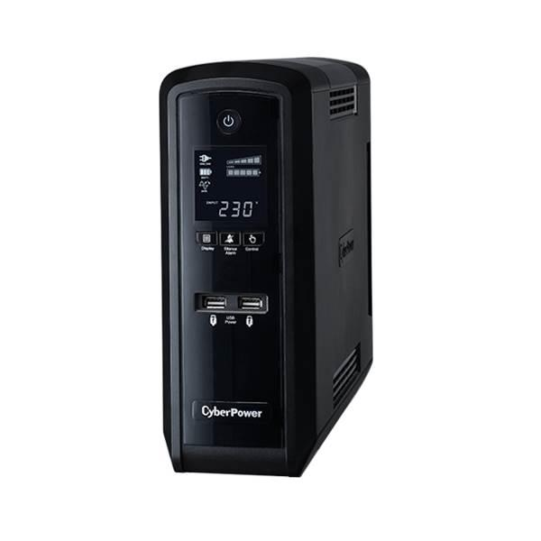 Image of Cyberpower Pfc Sinewave 1500va/900w (10a) Tower Ups Cp1500epfclcd