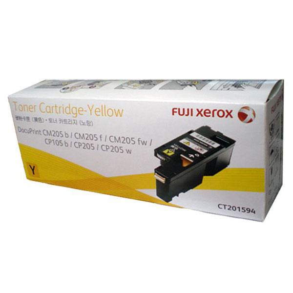 Image of Fuji Xerox Ct201594 Yellow Toner 1,400 Pages
