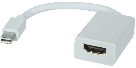 Image of 8ware 20.0cm Mini Displayport To Hdmi Male-female Adapter Cable