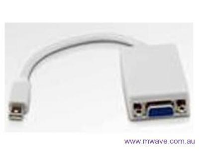 Image of 8ware 20.0cm Mini Displayport To Vga Male-female Adapter Cable