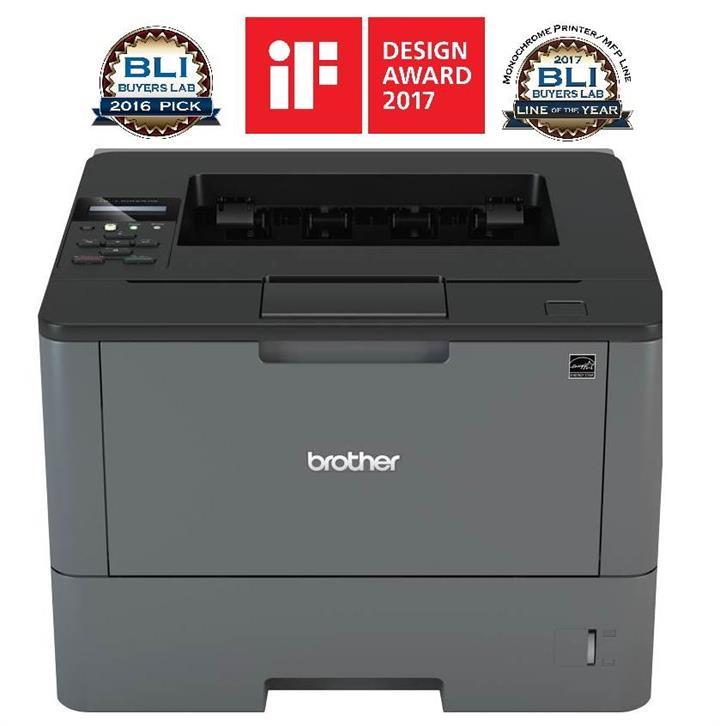 Image of Brother Hl-l5200dw Monochrome Wireless Laser Printer