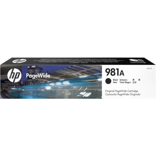 Image of Hp 981a Black Original Pagewide Cartridge (j3m71a)