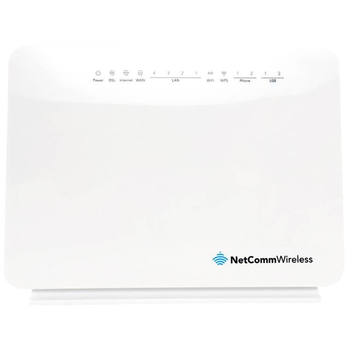Image of Netcomm Nf10wv N300 Wifi Vdsl/adsl Modem Router With Voip Gigabit Wan