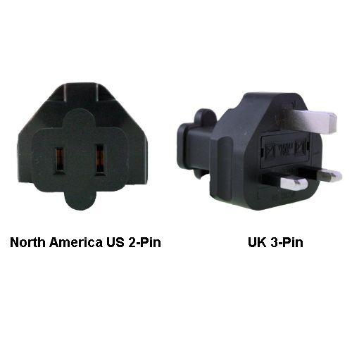 Image of North America Us To Uk Power Adapter Plug