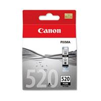 Image of Canon Pgi520 Black Ink Cart 324 Pages Black
